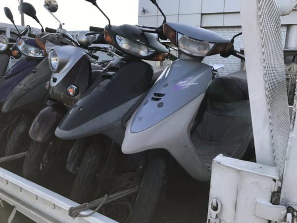 浜松市東区上西町 放置バイク撤去回収 | 回収・引き取り ...