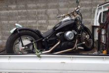写真:浜松市南区本郷町 廃車バイク ドラックスター(4TR)
