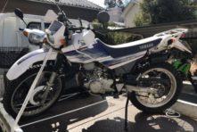 写真:浜松市中区城北 バイク回収 セロー225 鍵なし