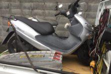 写真:浜松市南区楊子町 バイク処分 アドレス50 (焼き付き)