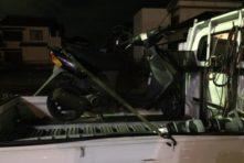 写真:浜松市西区馬部 バイク廃車 レッツ2 無料回収