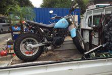 写真:浜松市中区住吉 バイク買取 TW200 改造車
