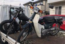 写真:浜松市西区村櫛町 バイク買取 TW200改、カブ