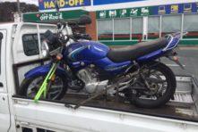 写真:浜松市中区山手町 バイク引き取り YBR125