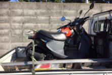 写真:浜松市中区城北 バイク引き取り 原付レッツ4