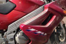 写真:掛川市亀の甲 バイク廃車引き取り ZZR250