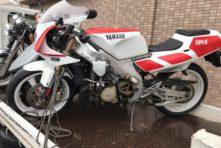 写真:磐田市岩井 バイク廃車 TZR250(3MA)書類不備