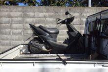 写真:浜松市東区半田山 バイク引き取り ZZ