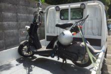 写真:浜松 中区和合町 バイク無料廃車 原付 バイト