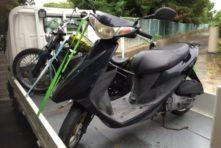 写真:浜松市西区篠原町 バイク回収 原付アドレスV50