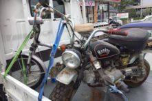 写真:浜松市東区上西 バイク処分廃車 二台まとめて