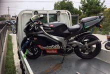 写真:浜松市中区蜆塚 バイク引き取り アプリリアRS125
