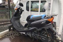 写真:浜松市東区西ヶ崎 放置バイク撤去回収 無料