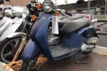 写真:浜松市中区紺屋町 東井場 放置バイク無料撤去回収
