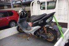 写真:浜松市西区西伝町 不要バイク処分  原付ライブディオ