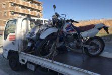 写真:浜松市東区中野 バイク引き取り XR250長期放置 買取
