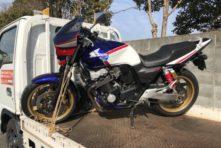写真:浜松市南区白羽町 バイク買取 CB400SFV3