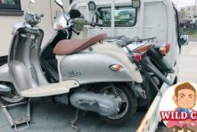 写真:袋井市愛野 浜北区引佐でバイク処分 原付ビーノ&タウンメイト