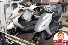 写真:浜松市北区新都田 バイク買取 フォーサイト&ディオ処分
