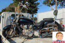 写真:浜松市南区で大型バイク買取 長期放置 錆さび