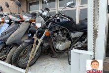 写真:磐田市ヤマハ発動機にて廃車処分 SRX250