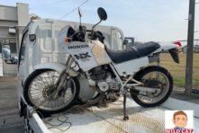 写真:浜松市中区和合町 バイク回収 NX125 鍵なし放置