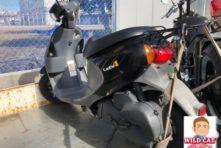 写真:浜松市西区舞阪 バイク引き取り 原付レッツ4 故障
