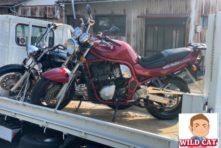 写真:浜松市中区和合町 バイク買取 SUZUKI GSF1200エンジン故障車
