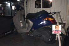 写真:浜松市西区篠原町 バイク廃車 原付レッツ5 回収