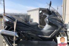 写真:浜松市東区天龍川町 バイク廃車 スカイウェーブ250(CJ44)