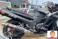写真:10年以上放置車両 買取 Kawasaki ZZR1100