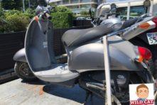 写真:袋井市木原 バイク引き取り 原付クレアスクーピー回収実績