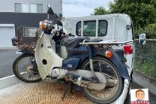 写真:浜北区中瀬 バイク廃車処分 原付3台